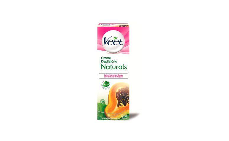 "Creme depilatório corporal Veet por R$21,75 na <a href=""https://ad.zanox.com/ppc/?34939348C12211804&ULP=[[http://www.netfarma.com.br/produto/27299/creme-depilatorio-corporal-veet-naturals-extrato-de-papaia-peles-normais-e-secas?utm_source=zanox&utm_medium=cpa&utm_content=deeplinkgen&utm_campaign=zanox]]"" target=""blank_"">Netfarma</a>"