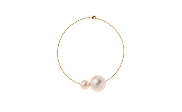 Halsband aus Gold und Perle Ring für $ 59 in My Gloss Zubehör