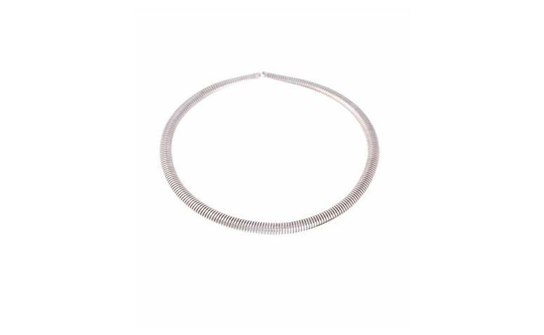 Hoop Halsband Silber für $ 78 auf Lilac Zubehör