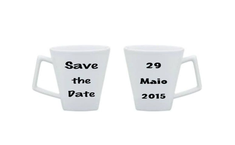 Mug save the date for US $ 49.00 on Link 7