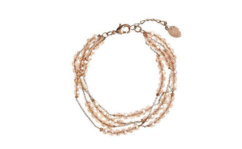 Armband mit Ketten und Edelsteinen für $ 79 auf Accessorize