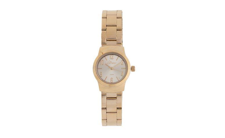 golden diskrete Uhr für US $ 149.99 in Dafiti