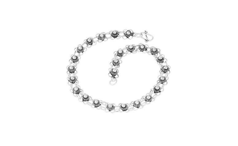 Bruna Tessaro Takı ve Optik R $ 116,10 için gümüş Bali Halhal çiçeği