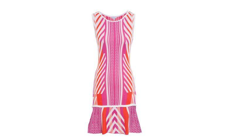 "Vestido baby doll rosa por R$179 na <a href=""http://www.oqvestir.com.br/vestido-le-lis-blanc-lela-55199.aspx/p"" target=""_blank"">OQ Vestir</a>"