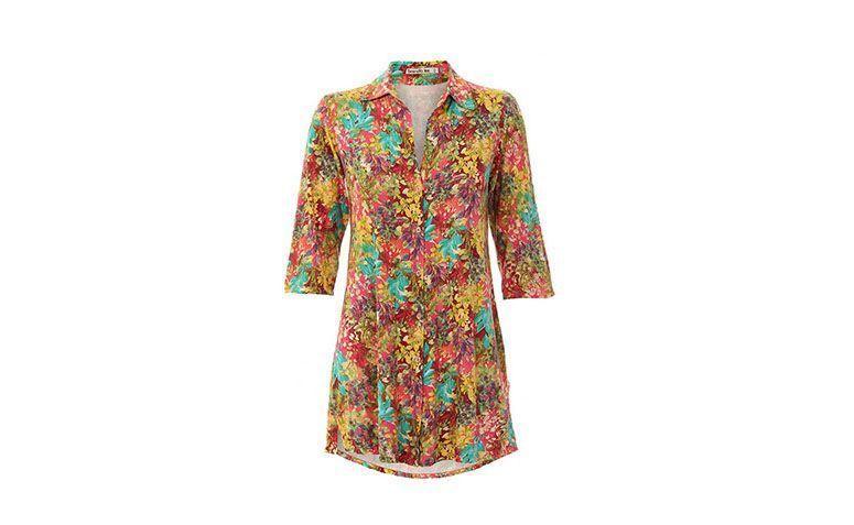"Vestido chemise curto floral por R$99,99 na <a href=""http://www.passarela.com.br/passarela/produto/chemise-mullet-floral-brenda-lee-7151a-estampado-6420036407-0"" target=""_blank"">Passarela</a>"