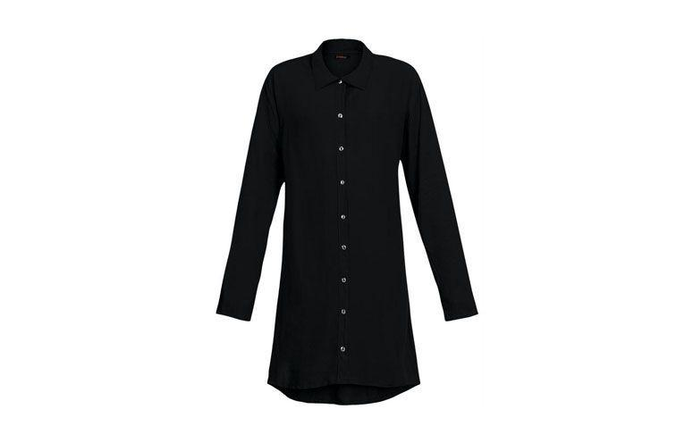 """Vestido chemise preto básico por R$99,99 na <a href=""""http://ad.zanox.com/ppc/?27713758C43009238&ULP=[[http://www.posthaus.com.br/moda/vestido-chemise-preto_art146458.html?PAC_ID=125109]]"""" target=""""_blank"""">Posthaus</a>"""