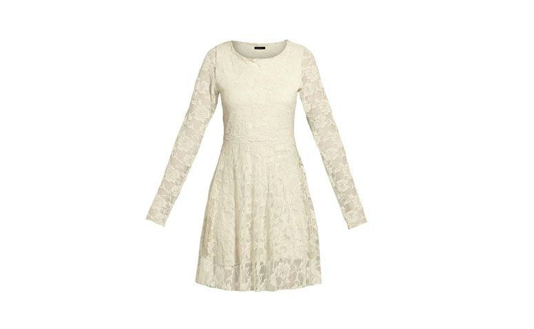 Income Flared Dress Pearl Quintess by R $ 99.99 in Posthaus