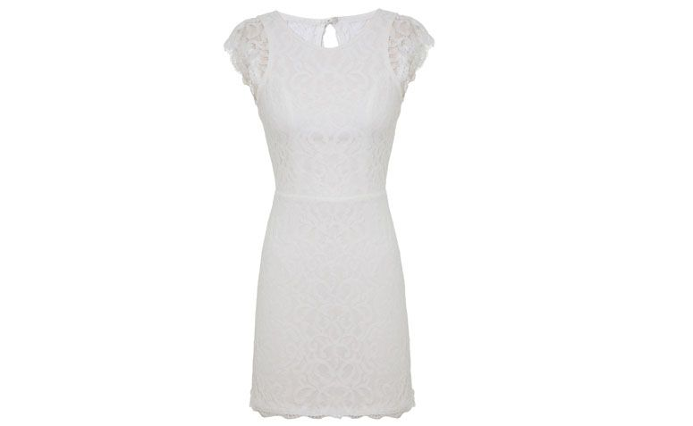 lace dress off-white 33 Market for $ 219 at Q Dressing