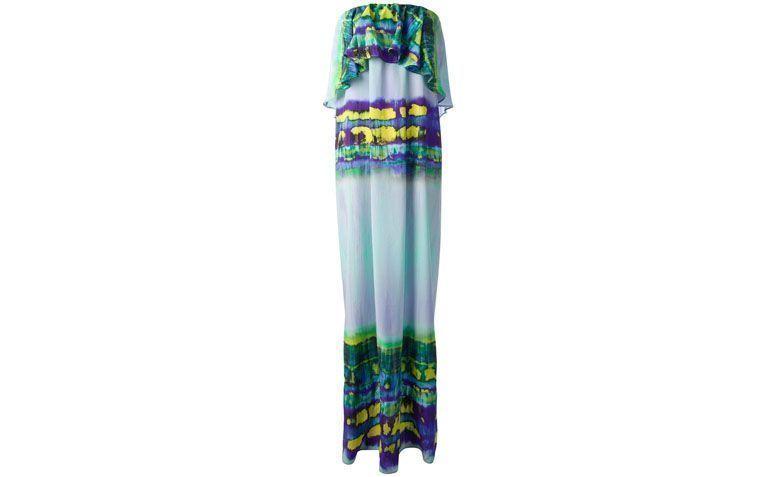 """Vestido tomara que caia longo com estampa colorida por R$2.688 na <a href=""""http://ad.zanox.com/ppc/?29469493C40749417&ULP=[[http://www.farfetch.com/br/shopping/women/msgm-vestido-estampado-azul-item-10591983.aspx?utm_source=zanox&utm_medium=link&utm_campaign=deeplink_generator]]"""" target=""""_blank"""">Farfetch</a>"""