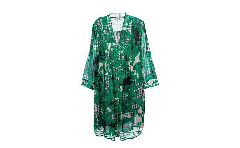 "Vestido túnica de seda estampada por R$2.488 na <a href=""http://ad.zanox.com/ppc/?29469493C40749417&ULP=[[http://www.farfetch.com/br/shopping/women/diane-von-furstenberg-tunica-de-seda-item-10978877.aspx?utm_source=zanox&utm_medium=link&utm_campaign=deeplink_generator]]"" target=""_blank"">Farfetch</a>"