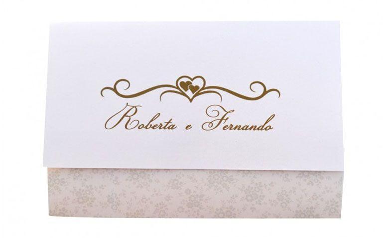 "Convite estampado por R$3,50 por unidade na <a href=""http://www.papelconvite.com.br/convites-de-casamento-ref-139.html"" target=""blank_"">Papel Convite</a>"