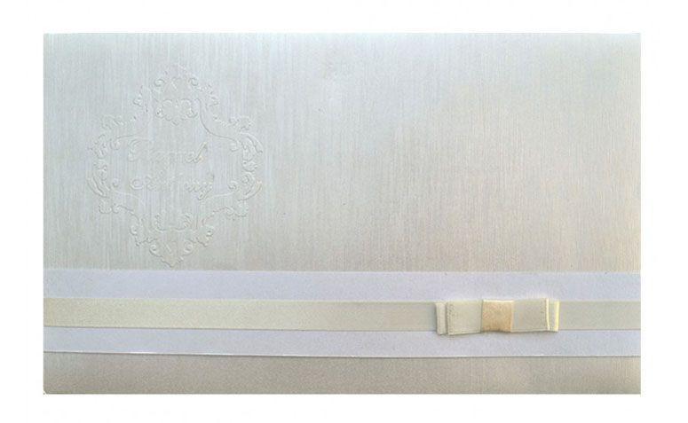 """Convite com laço por R$10,13 por unidade na <a href=""""http://www.papelconvite.com.br/convites-de-casamento-ref-167.html"""" target=""""blank_"""">Papel Convite</a>"""