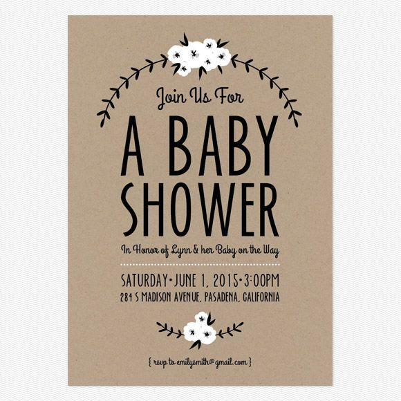 "Foto: Reprodução / <a href=""http://www.babble.com/home/adorable-free-printables-baby-showerannouncements/"" target=""_blank"">Babble</a>"