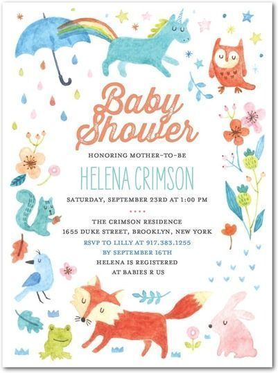 "Foto: Reprodução / <a href=""https://www.tinyprints.com/product/37292/baby_shower_invitations_watercolor_silhouette__kiwi.html"" target=""_blank"">Tiny prints</a>"