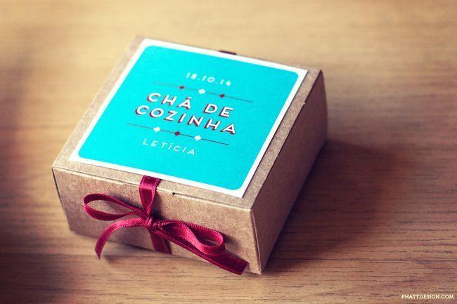 """Foto: Reprodução / <a href=""""http://www.phattdesign.com/convites/cha+bar+leticia+caixinha"""" target=""""_blank"""">Phatt design</a>"""