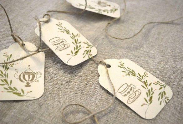 "Foto: Reprodução / <a href=""http://www.theprettyblog.com/wedding/bridal-shower-invitation-free-printable/"" target=""_blank"">The Pretty blog</a>"