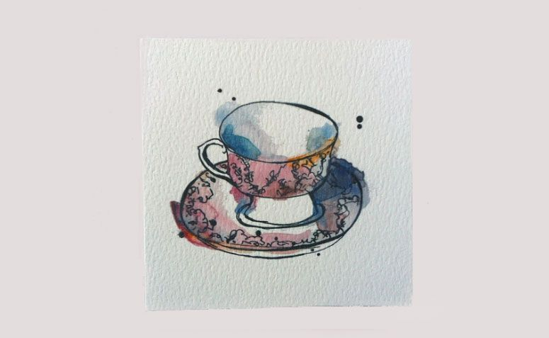 "Cartão ilustrado xícara por R$ 12,76 no <a href=""https://www.etsy.com/pt/listing/115101663/card-pink-teacup-illustration-art?ga_order=most_relevant&ga_search_type=all&ga_view_type=gallery&ga_search_query=convite%20ch%C3%A1%20de%20bebe&ref=sr_gallery_34 "" target=""_blank"">Etsy</a>"