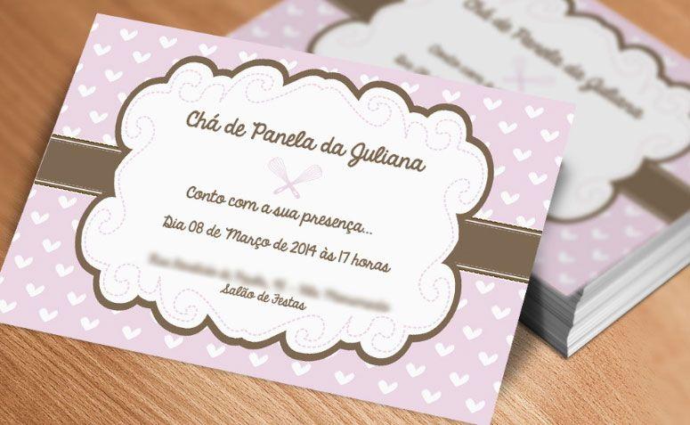 """Convite chá de panelas coração por R$ 1,60 no <a href=""""http://www.elo7.com.br/convite-cha-de-panelas-coracoes/dp/415890#hsn=0&df=d&uso=o&pso=cp&osbt=b-o"""" target=""""_blank"""">Elo7</a>"""