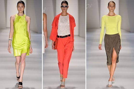 cores citricas 2 Cores cítricas: tendência para o verão 2012