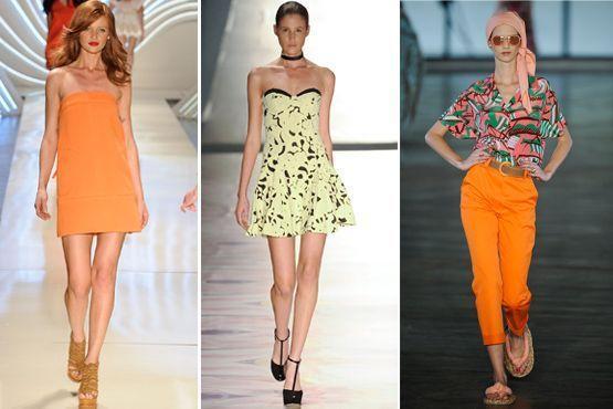 cores citricas 3 Cores cítricas: tendência para o verão 2012