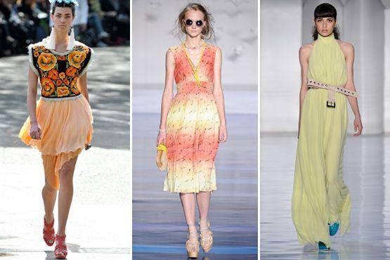 cores citricas 5 Cores cítricas: tendência para o verão 2012