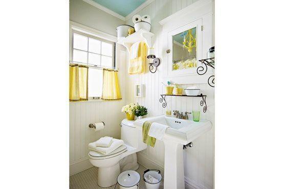 Sugestão para decorar com amarelo discretamente.