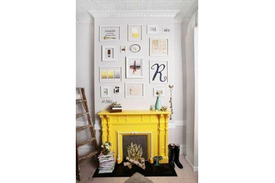 Escolher apenas um objeto colorido é uma forma de não exagerar na decoração com cores fortes.