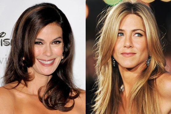 Teri Hatcher e Jennifer Aniston