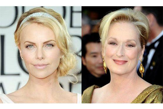 Charlize Theron; Meryl Streep.