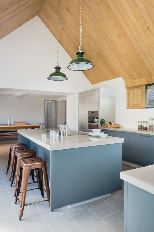 "Foto: Reprodução / <a href=""http://sustainablekitchens.co.uk/the-vine-house-modern-kitchen/"" target=""_blank"">Sustainable Kitchens</a>"
