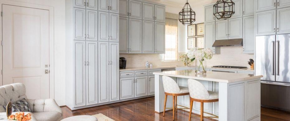 """Foto: Reprodução / <a href=""""http://dodsoninteriors.com/#!/page/230123/kitchens"""" target=""""_blank"""">Dodson interiors</a>"""