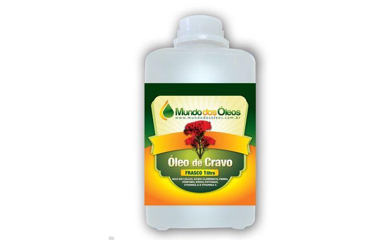 """Óleo de cravo 1L por R$149,90 na <a href=""""http://www.mundodosoleos.com/oleo-de-cravo-1litro?gclid=CND9wcXjw8MCFYdj7AodEWcA8w"""" target=""""blank_"""">Mundo dos Óleos</a>"""