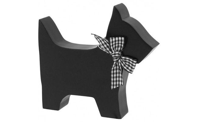 """Escultura de cachorro por R$ 23,52 no <a href=""""http://produto.mercadolivre.com.br/MLB-555779988-escultura-de-cachorro-enjoy-mdf-preto-_JM"""" target=""""_blank"""">Mercado Livre</a>"""