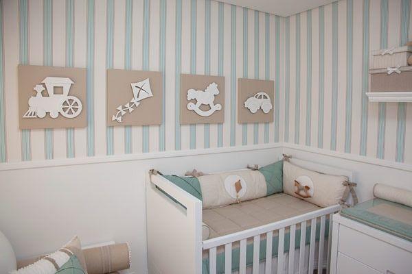 Ideias Decoracao Para Quarto De Bebe ~ 60 ideias para decorar quarto de beb?  Dicas de Mulher