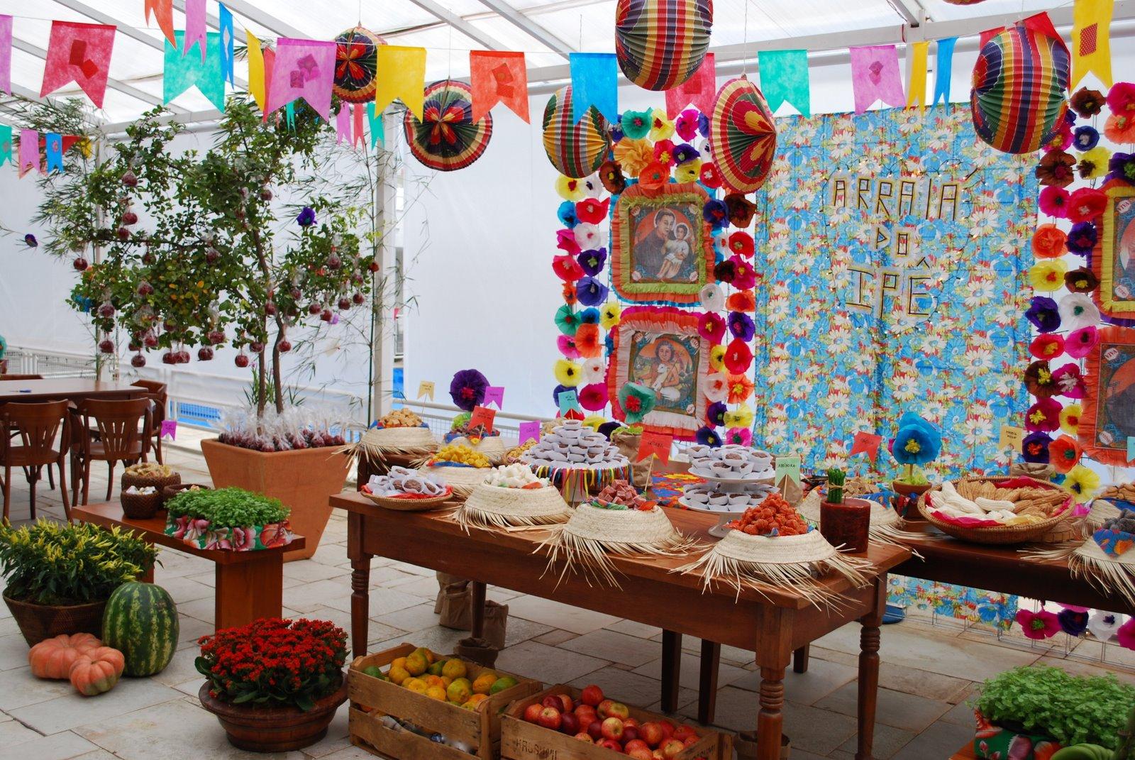 Decoraç u00e3o para festa junina dicas e tutoriais -> Decoração De Teto Para Festa Junina