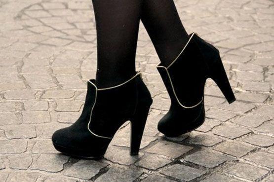 Ankle boot de camurça