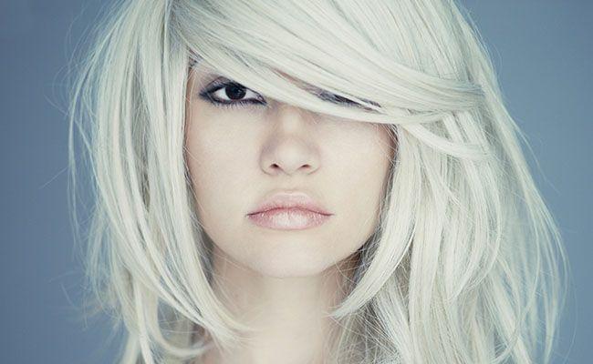 cortes de cabelo rosto redondo testa grande loira