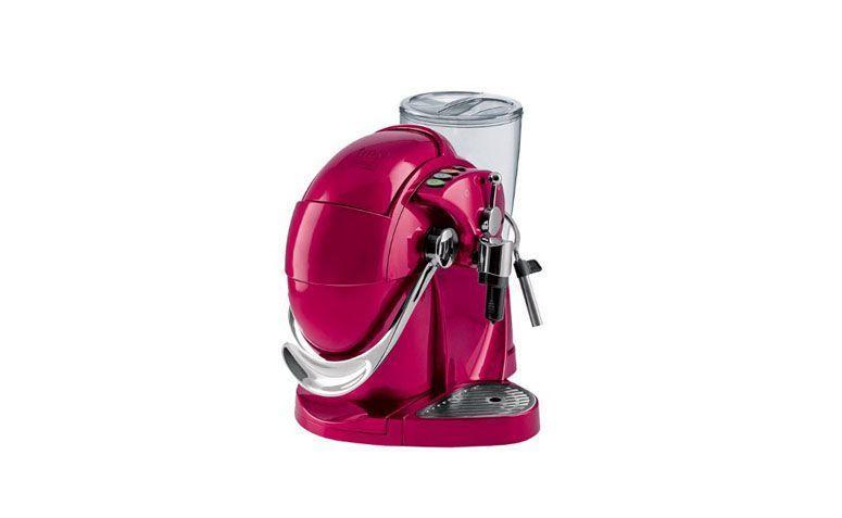 """Máquina de café expresso 3 Corações por R$559,00 na <a href=""""http://www.shopfato.com.br/maquina-de-cafe-expresso-s06hs-gesto-rosa-127v-3-coracoes_29368/p"""" target=""""blank_"""">Shopfato</a>"""