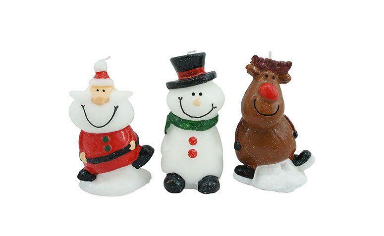 Navidad de la diversión velas 3 unidades por $ 35.91 en los EE.UU.