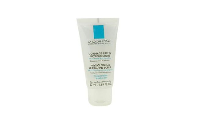 "Physiological Ultra Fine Scrub La Roche Posay por R$59,90 no <a href=""http://www.ozcosmetics.com.br/La-Roche-Posay/Physiological-Ultra-Fine-Scrub-pele-sensivel-/110598"" target=""_blank"">Ozcosmetics</a>"