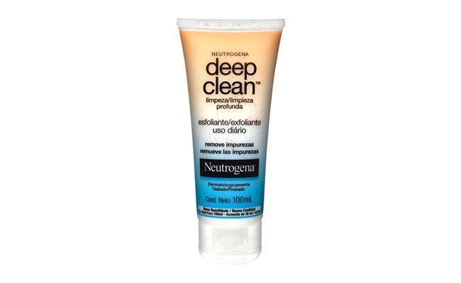 "Esfoliante Neutrogena Deep Clean por R$21,45 na <a href=""http://www.netfarma.com.br/produto/20186/esfoliante-neutrogena-deep-clean"" target=""_blank"">NetFarma</a>"