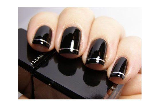 O preto é indicado para todas as peles, porém, se destaca ainda mais na pele clara e fica muito elegante.