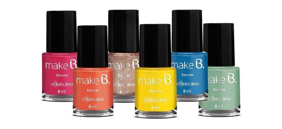 <p>Ocean Drive Pink (rosa chiclete) </p> <p>Ocean Drive Orange (laranja vivo) </p> <p>Ocean Drive Gold (dourado metálico) </p> <p>Ocean Drive Yellow (amarelo) </p> <p>Ocean Drive Blue (azul) </p> <p>Ocean Drive Green (verde pastel) </p> <p>Preço médio (unidade): R$12,99</p>