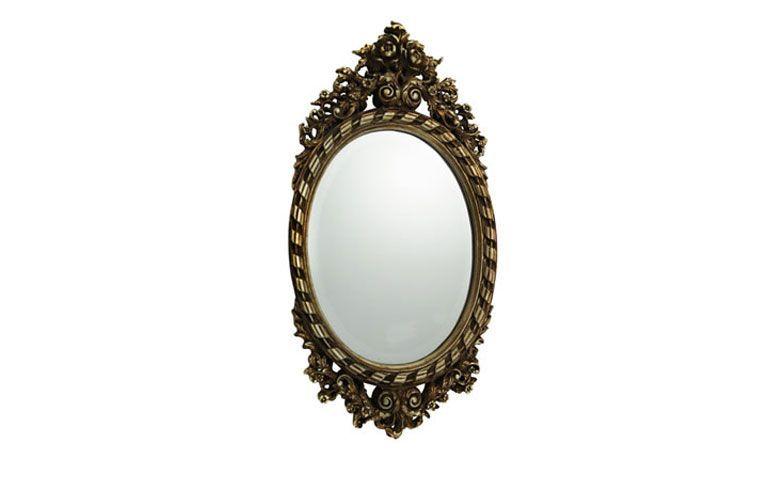 """Espelho com moldura por R$ 672,86 na <a href=""""http://www.primehomedecor.com.br/espelho-com-moldura-decorativa-max-prata-69-0-x-35-0-cm/p/E521101"""" target=""""_blank"""">Prime Home Decor</a>"""