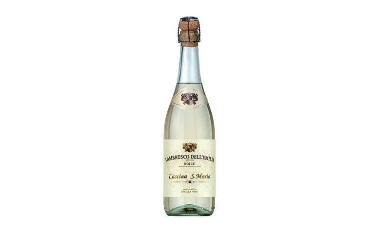 "Vinho espumante Lambrusco Branco Cascina Santa Maria por R$16,90 na <a href=""http://www.angeloni.com.br/adega/produto?grupo=1012&idProduto=1749382"" target=""blank_"">Angeloni</a>"