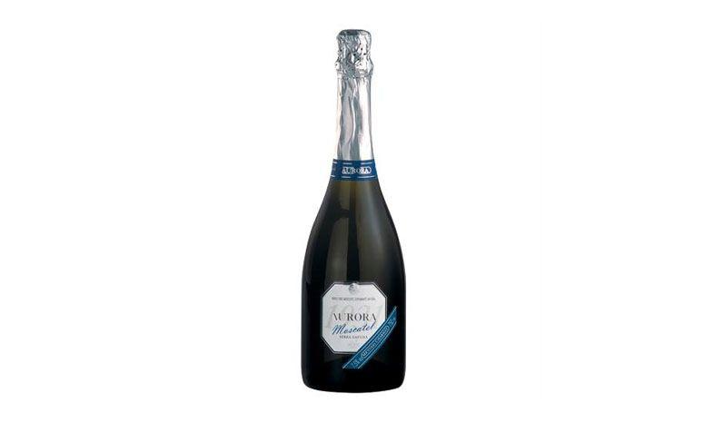 "Vinho espumante Aurora Moscatel por R$22,50 na <a href=""http://www.angeloni.com.br/adega/produto?grupo=1007&idProduto=400807"" target=""blank_"">Angeloni</a>"