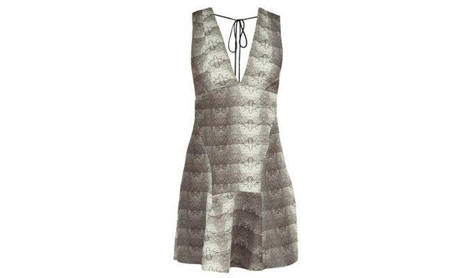 """Vestido de cobra Espaço Fashion por R$192,50 na <a href=""""http://www.fashiondelivery.com.br/vestido-espaco-fashion-estampa-cobra-191596/p"""" target=""""blank_"""">Fashion Delivery</a>"""