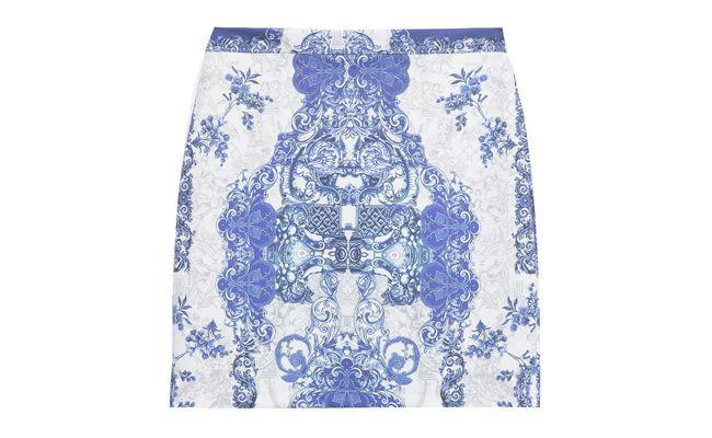 "Saia lápis estampa azulejo Market33 por R$219 na <a href=""http://www.oqvestir.com.br/saia-lapis-estampa-azulejo-33219.aspx/p?"" target=""_blank"">Oqvestir</a>"