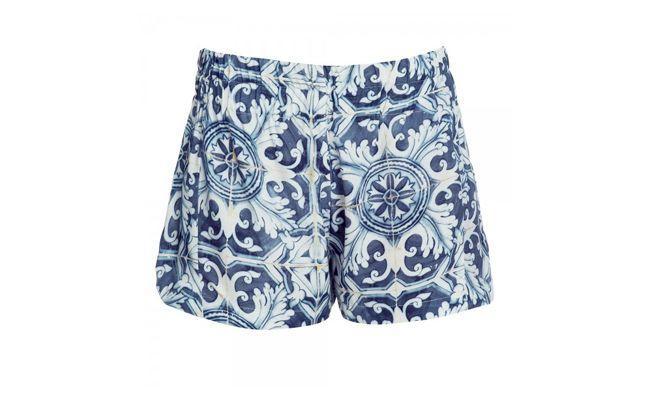 Shorts portugais carreaux - Tigresse par R 248 $ naFhits Magasins