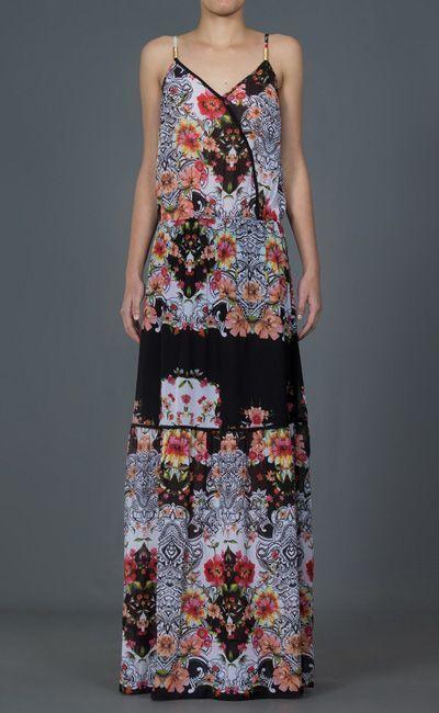 فستان طويل MOB لل351،45 $ في Farfetch